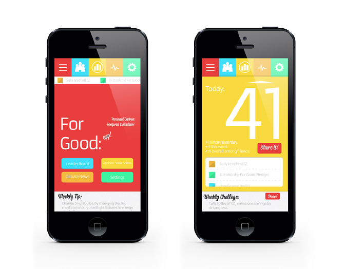 for good personal carbon footprint calculator app past work