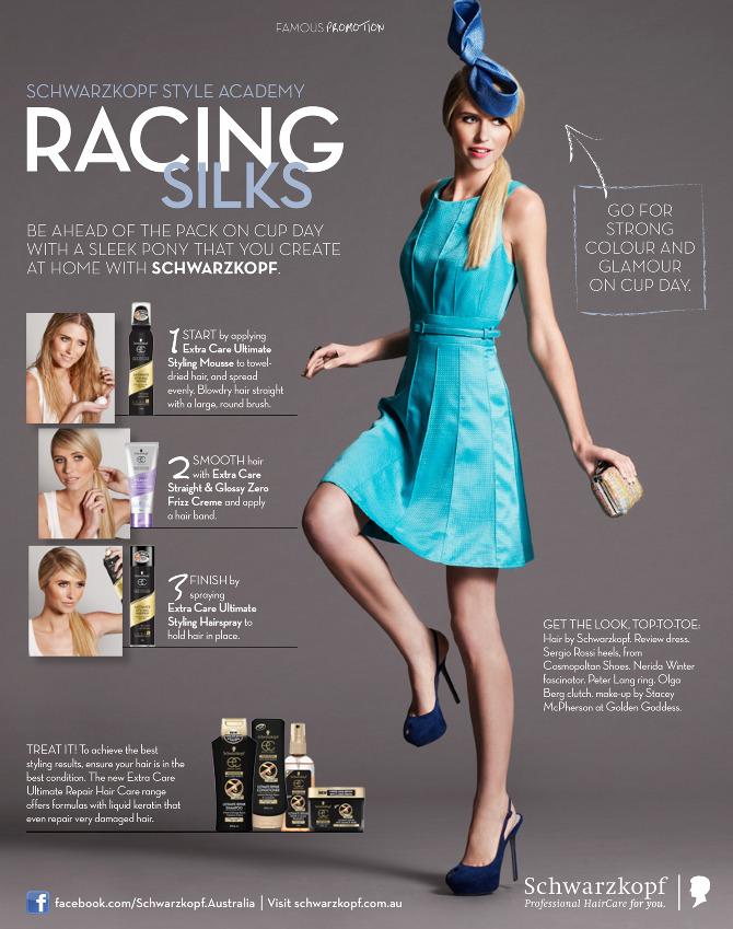 Celebrity bronze spray tan