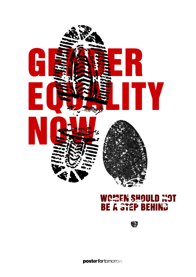 Poster - Gender Equality Now - YH Gender Equality Posters