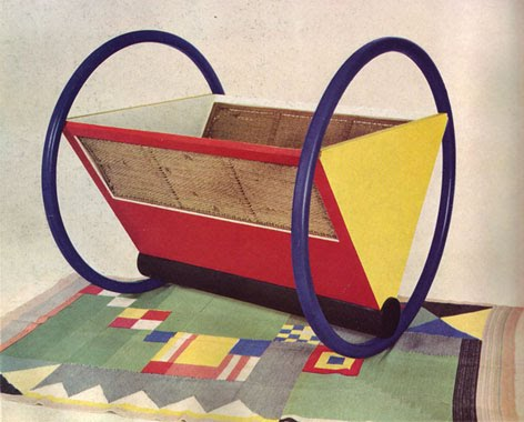 Horse Riding Toy on peter keler bauhaus cradle